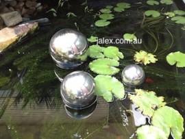 Ball Set 100x1, 150x1 & 200mmx1 Stainless Steel Balls