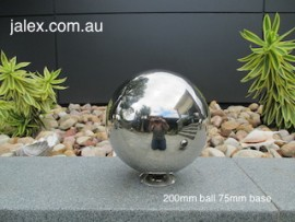 200mm Stainless Steel Ball on 75mm Hemisphere