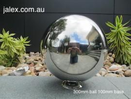 300mm Stainless Steel Ball on 100mm Hemisphere