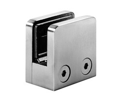 A1106-316S square shaped clamp for 6, 8 or 10mm glass