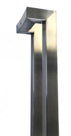 31mm SQ Offset Rectangular 1200mm Stainless Steel Handles