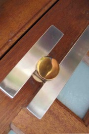 42mm x 42mm square 1200mm Gold discs