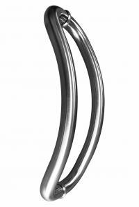 32mm Round  432mm Bow Stainless Steel Door Handles