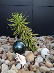 Metallic Green 150mm Stainless Steel Ball
