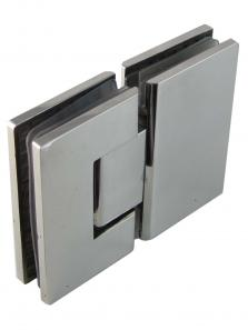 Glass Door Hinge (Pair) 316 Stainless Steel 8mm - 12mm Glass