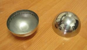 100mm HALF Stainless Steel Ball