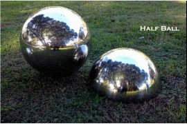 HALF Stainless Steel Balls