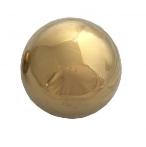 Gold Electro Plated Stainless Steel Ball 100mm-150mm-200mm-300mm