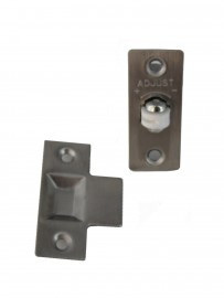 Roller bolt door latch